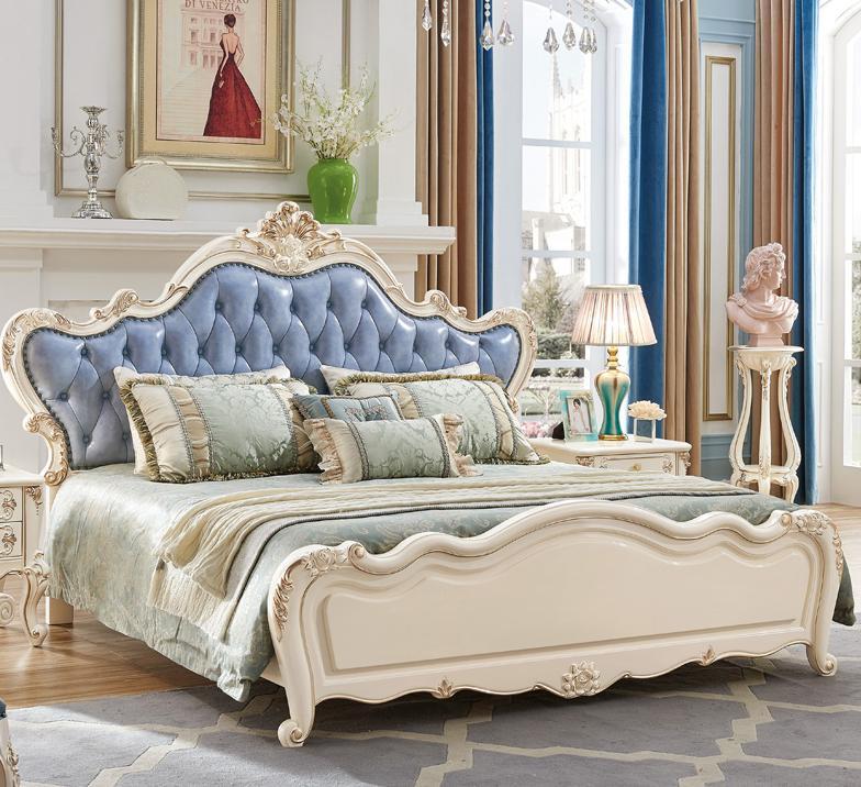 100% Wahr Europäischen Stil Foshan Hochwertige Antike Königliche Europäischen Stil Bett Möbel