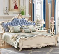 European style Foshan high quality antique royal european style bed furniture