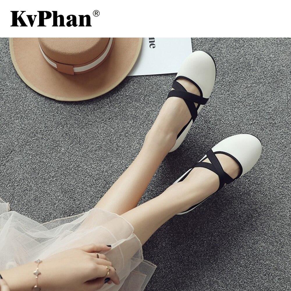 Zapatos dedo Kvphan Nueva Para Cuatro white Ballet Black Otoño 44 Colores  Del Primavera Casual De Pie Redonda Señora 33 Punta Cruz Mujer green La ... 283cb8fac010