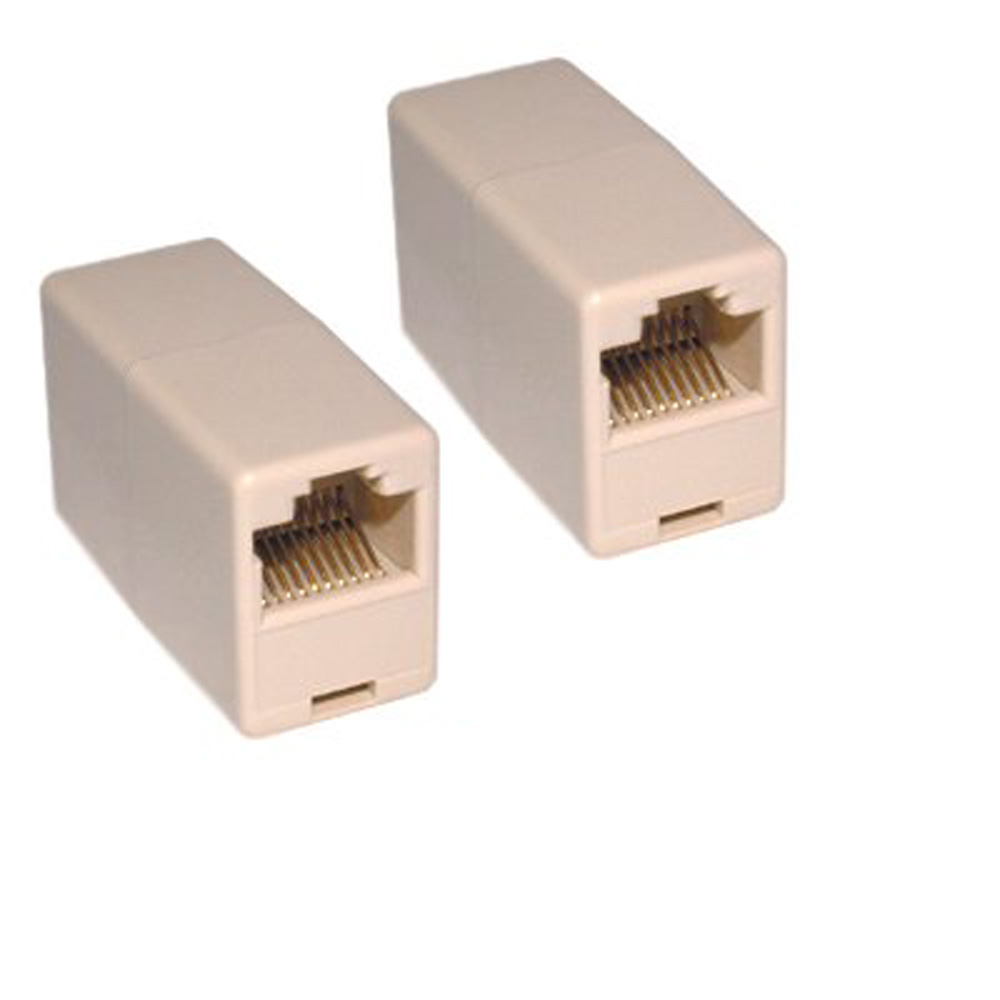 YOC Hot 10 Pcs Cat 5e Network Patch Ethernet RJ45 Coupler Joiner Adapter Converters