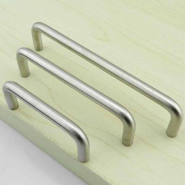 128mm acero inoxidable cepillado cocina gabinete manija for Muebles de cocina la plata