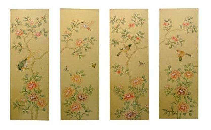 House  Decorations hand-painted silk painting CHY-001/CHY-002/CHY-003/CHY-004 airtac type cylinder sda 40 40 compact cylinder double acting 40 40mm accept custom
