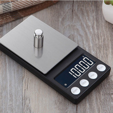 200g/300g/500g 0.01g Mini Digital Scales Pocket Jewelry Scales High Precision Electronic Balance Weight Balanca Digital Scale