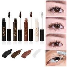 1pc 4 Colors Professional Waterproof Curling Mascara Eyes Cosmetics Eyelash Extension Brown White Makeup