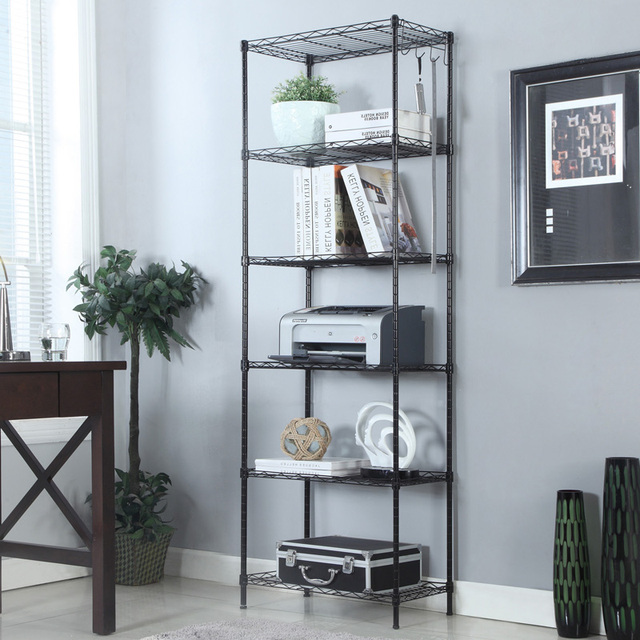 metal steel 5 layers shelf rack shelf bathroom floor bathroom ...