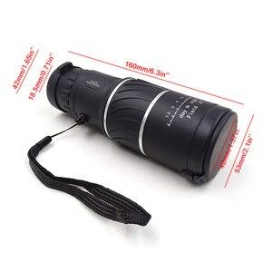 Image 5 - Monoküler teleskop cep telefonu 16x52 dürbün seyahat monoküler teleskop gündüz görüş HD açık monoküler avcılık Spotting kapsam