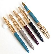 Перьевая ручка wing sung 233 иридиевая сталь алюминиевая крышка Пластиковый стержень Классическая Ручка Студенческая Ручка