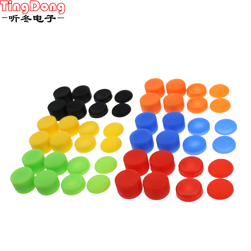 Silicone Controller Analog Grips Thumbstick Cover For PS3/PS4 Thumb Grip For Sony Playstation 4 PS4 Pro Slim Replacement Parts