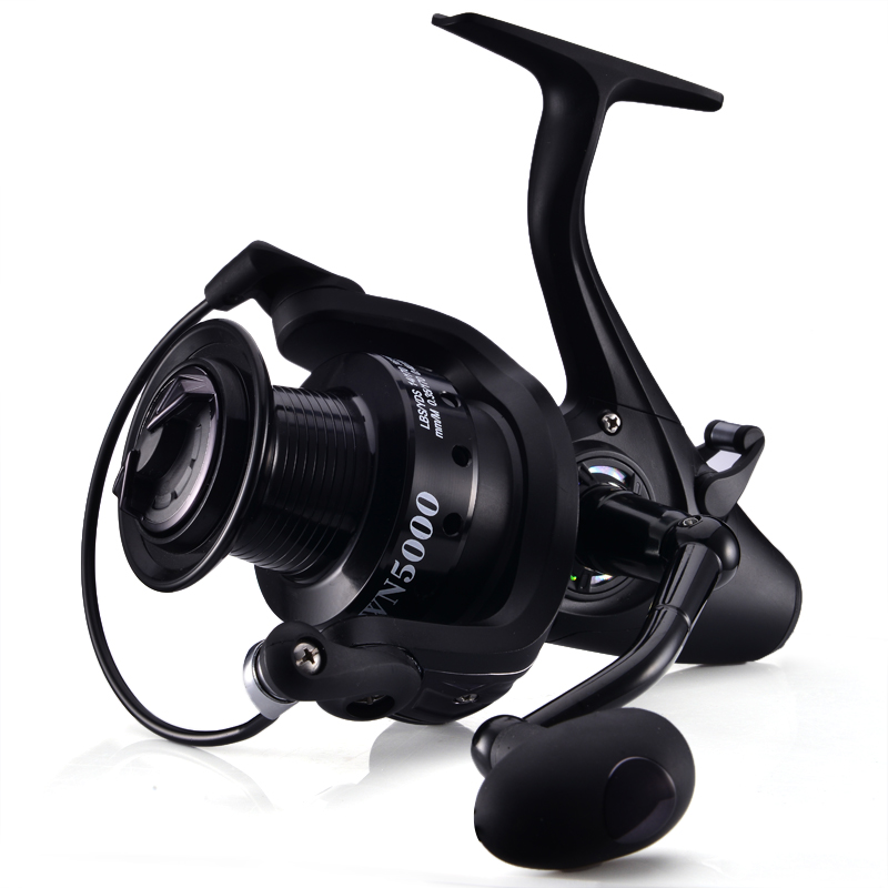 Lizard fish 12+1BB Carp Fishing Feeder Reel Long Surf Casting Metal Spool Reels Boat Left Right Sea Fishing Saltwater 12 1 bb ball bearing left right fishing spinning reels sea fish line reel