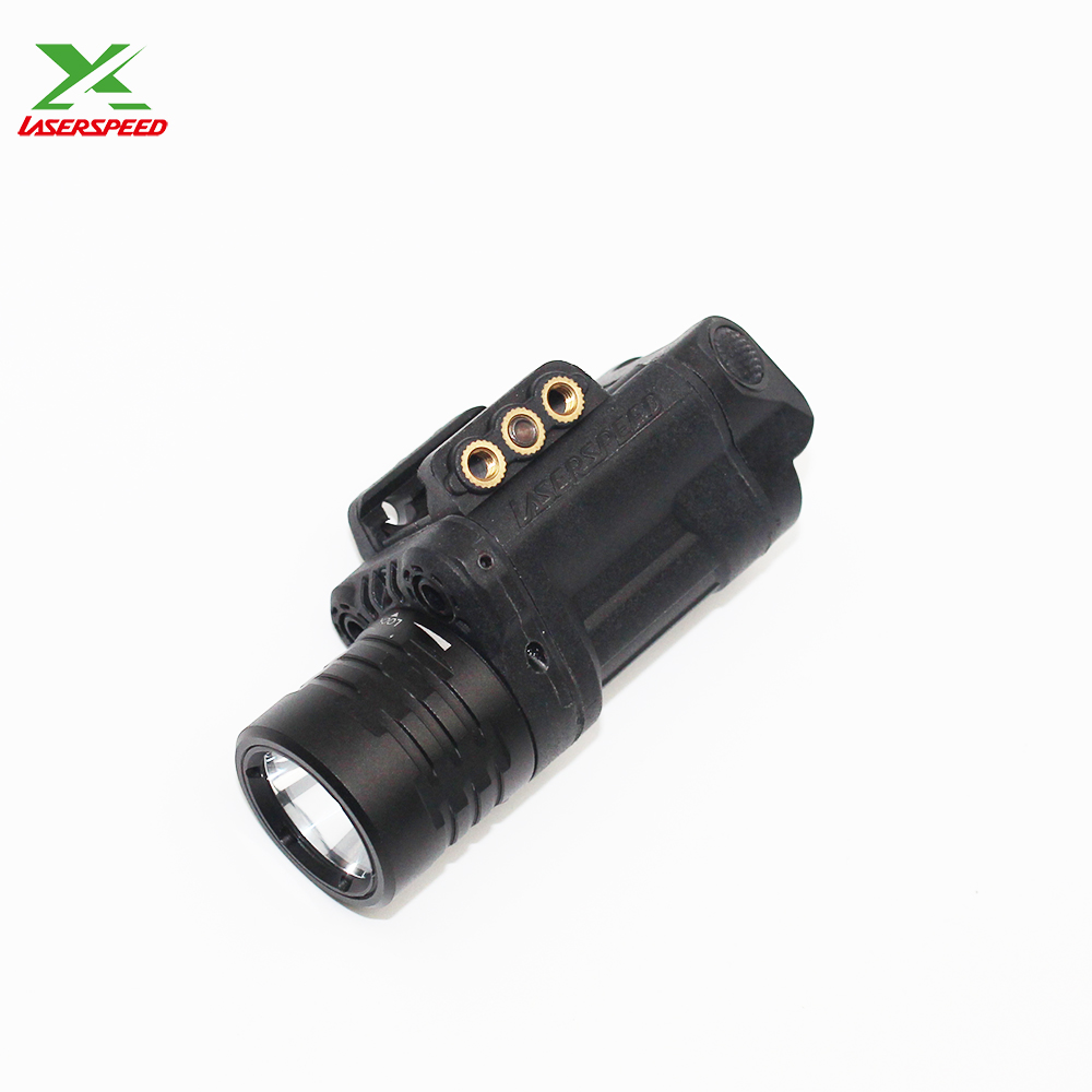 Dust proof Multi-functions Tactical Light with Green and Red Laser Scope Combo