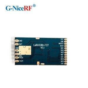 Image 2 - 2PCS LoRa1280F27 500mW 2.4G SX1280 chip 27dBm 2.4GHz RF Module
