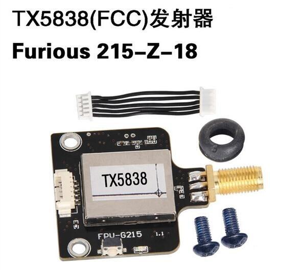 Original Walkera Furious 215 spare part 215-Z-18 TX5838 (FCC) Transmitter for Furious 215 FPV Racing Drone Quadcopter F20744