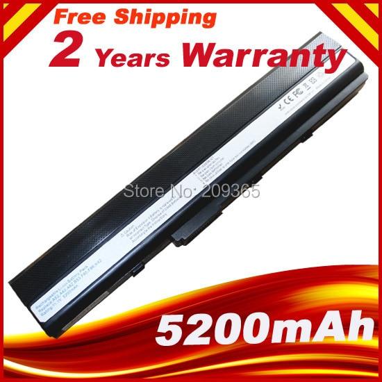 Batterie d'ordinateur portable pour ASUS k42j k42f k42jr k42d k42jc k42jf k42jb K52 K52D K52DE K52DR K52DY K52EQ K52JT K52F K52J
