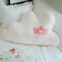 Cloud French Style Doll Baby Sleeping Comforting Plush Stuffed Bed Room Sofa Decoration Toys Xams Gift
