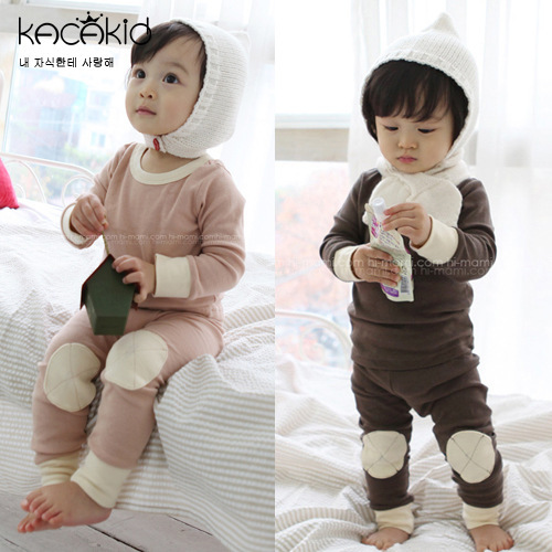 2016 New Arrival Winter Spring Baby Fashion Warm Clothing Set Thickness Kids Sleeping Clothing Set