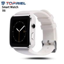2016 bluetooth smart watch x6 kamera sport facebook whatsapp rechner wecker smartwatch für android iphone pk gt08 dz09
