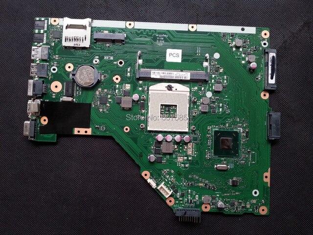 Для ASUS X55A Ноутбука Материнская Плата Mainboard HM70 DDR3 REV: 2.1 Полно Испытано