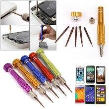 5 in1 Universal Repair Open Tools Kit Disassemble Torx Star Phillips Screwdrive For Phones