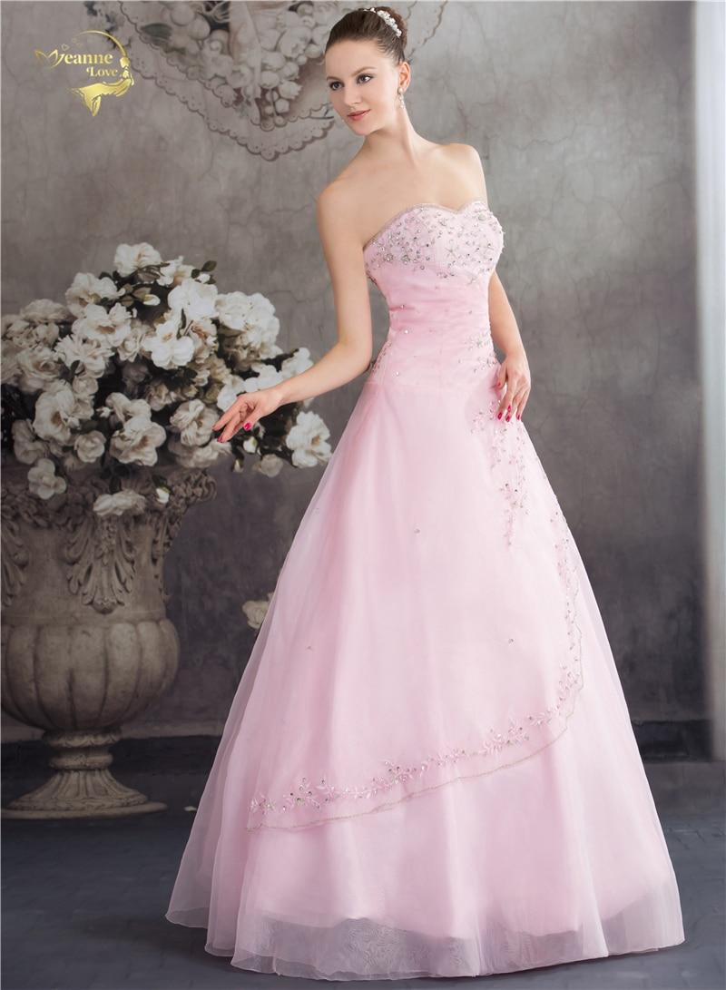 Vestido De Debutante Gaya Klasik Sweetheart Blue Pink A Line Sulaman - Gaun acara khas - Foto 4