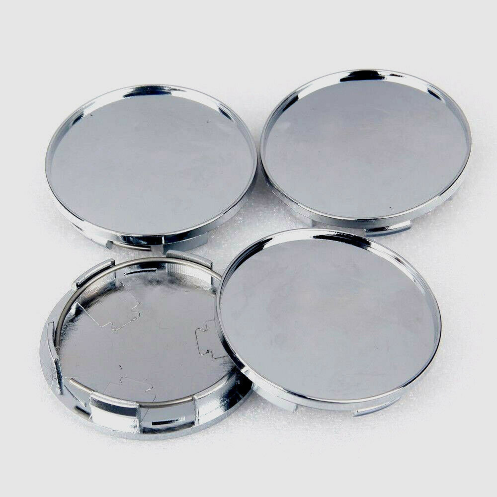 Image 5 - 4x/kit Chrome Silver Car Vehicle Wheel Center Hub ABS Cap Cover 68MM Decoration-in Car Covers from Automobiles & Motorcycles
