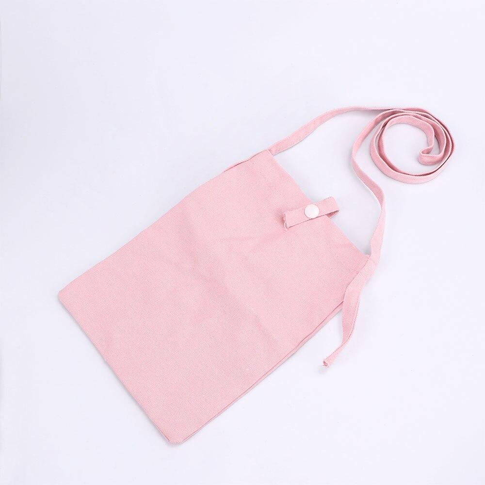1 Pcs Einkaufstasche Mini Brieftasche Schulter Tasche Frauen Handtaschen Leinwand Casual Tote Handy Multifunktionale Weibliche Tragbare Tasche