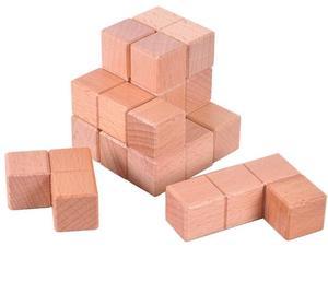 Image 5 - الكلاسيكية الذكاء لغز العقل دعابة الدماغ 2D ثلاثية الأبعاد الاثاث الخشبية لعبة تعليمية للكبار الأطفال