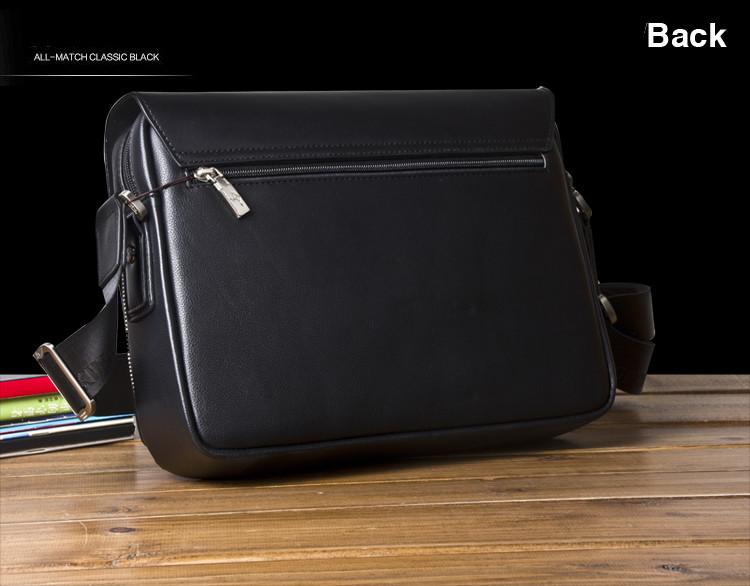 New Arrived luxury Brand men's messenger bag Vintage leather shoulder bag Handsome crossbody bag handbags Free Shipping 20