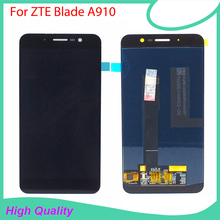 Orijinal LCD ZTE Blade A910 BA910 LCD ekran dokunmatik ekranlı cep telefonu parçalar ZTE Blade A910 ekran LCD ekran + araçları
