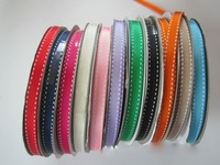 Free Shipping 50 Yards Roll 10mm Colorful Silk Satin Ribbon Wedding Party Decoration Gift Craft Sewing