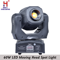 High Quality 60W LED Moving Head Spot Light Led Moving Head Beam dj equipment DMX512 controller