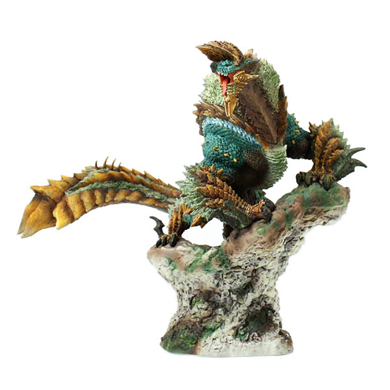 Monster Hunter Game Model Monster Hunter XX Creators Model Zinogre Dragon Model Collectible Monster Figures Action Japan