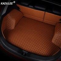 KADULEE car trunk mat for Mercedes Benz all models C ML GLA GLE GL GLK CLA R A B GLS GLC class car accessories custom trunk mats