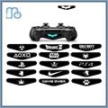 PS4 Controlador LEVOU Adesivo Adesivo PS4 Tampa Do Controlador PS4 Decalque Led LED Light Bar LED Etiqueta Acessórios Do Jogo