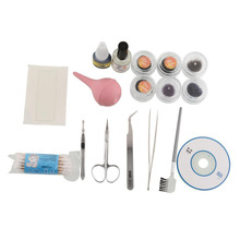 Pro Makeup False Eyelashes Extension Kit Set Full Cosmetic Set Eyelash Tools Drop Shipping
