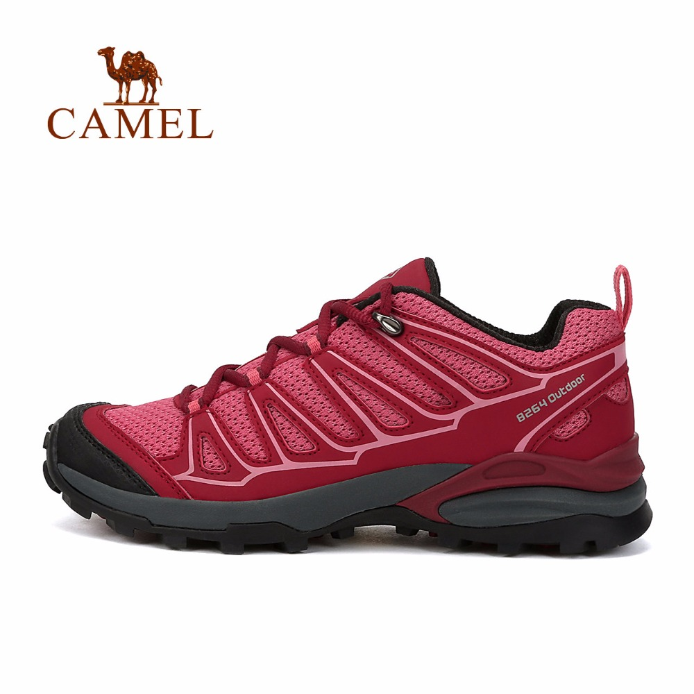 CAMEL Outdoor Climbing Sport Shoes 2018 New Professional Hiking Shoes Women Antiskid Breathable Lithe Outdoor Shoes camel shoes 2016 women outdoor running shoes new design sport shoes a61397620