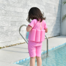 Kids Floating Swimsuit with Zipper Life Vest
