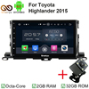 Octa Core 2 Din 10 1 Android 6 0 Car Radio DVD GPS For Toyota Highlander