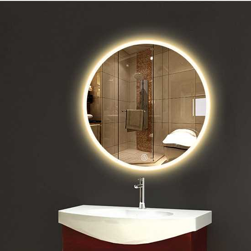Bathroom Wall Sconce Round Dressing, Bathroom Mirrors And Lighting
