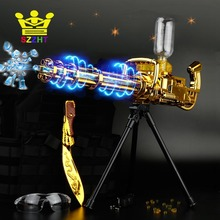 Electric Bursts Air Soft Bullet Jet Water Gun Toys Cannon Weapon Outdoor CS Game Paintball Submachine for Children Kid Boy Gifts