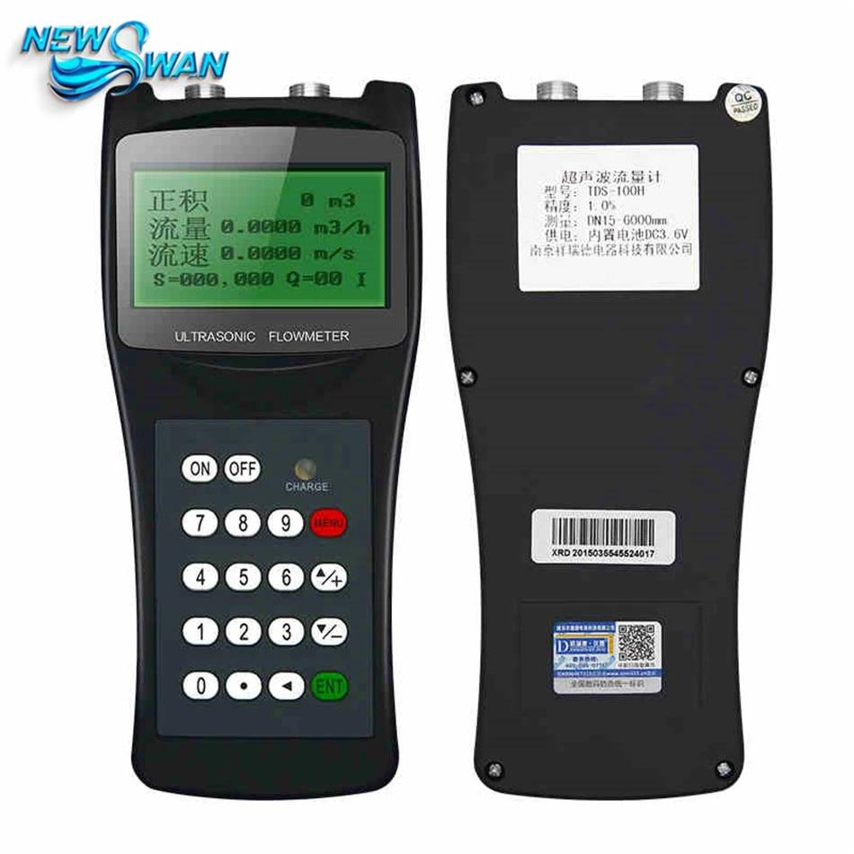 Ultrasonic Flow Meter Flowmeter Clamp on Sensor DN15-100mm TDS-100H-S1 From USA