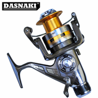 Europe Most Popular Smooth Spinning Fishing Reel Rear Drag 9+1BB Carp Bait Runner Feeder Tackle For Fishing reel Spinning Coil