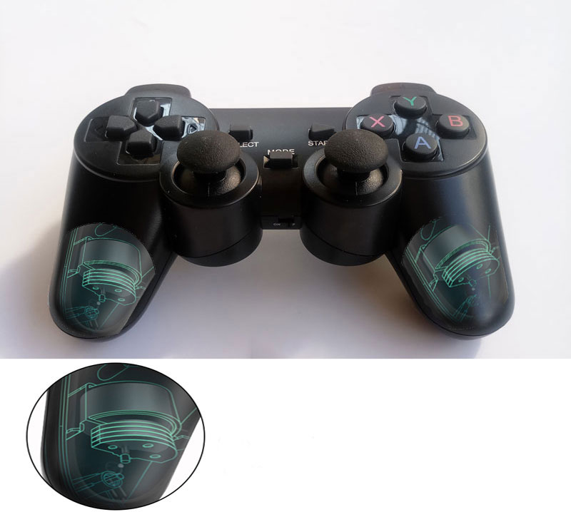 cheapest Professional computer gampead PC wireless game controller 2 4Ghz joystick with PC360 mode double vibration for Win7 Win8 Win10