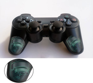 Image 3 - Professional computer gampead PC wireless game controller 2.4Ghz joystick with PC360 mode double vibration for Win7 Win8 Win10
