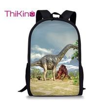 Thikin Dinosaur Backpack for Teenager Boys Monstar School Bag Preschool Bookbag pupil Travel Shoulder Women Mochila