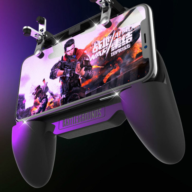 Multi Functional Game Phone Holder For iPhone XS MAX X Samsung S10 S9 Mobile Phone Cooler Heat Sink Cooling Game Controller Hand