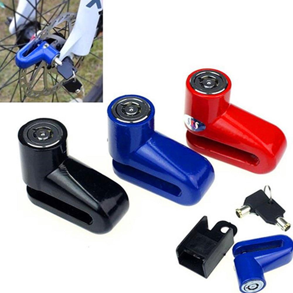 Motorcycle Scooter Anti Theft Brake Disc Lock For Bike Bicycle Wheel Disk Lock Motorbike Safety Brake Lock Easy To Use