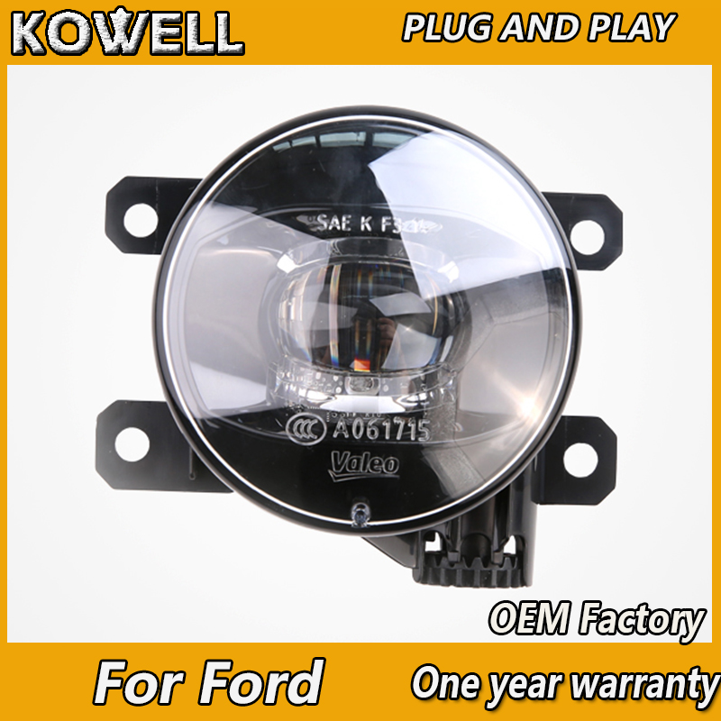 KOWELL Car Styling Original Fog Lamp for Ford Ranger Falcon Transit <font><b>Mustang</b></font> LED Fog Light LED DRL 2 function model Fog Lamp image