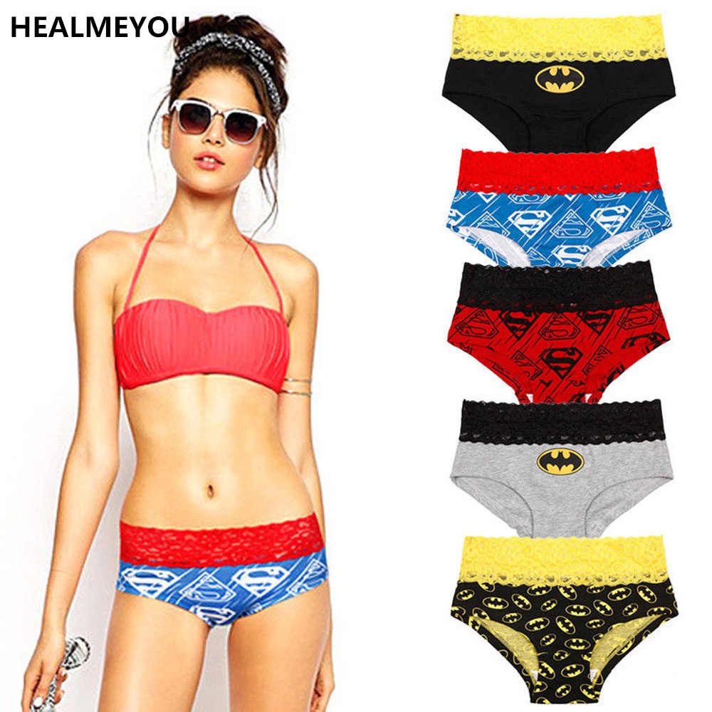 e9b5f3eab07d Detail Feedback Questions about Women Lady Hot Fsshion Sexy Lace Batman  Underwear Panties Boxer Briefs Knickers Lingerie on Aliexpress.com |  alibaba group