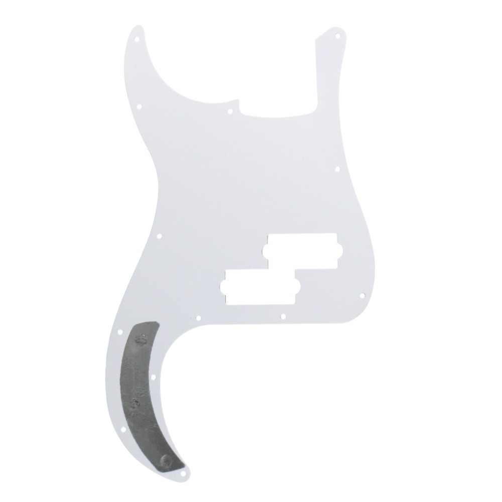 New 1PCS 13 Hole PB P Bass Pickguard Scratch Plate NO Truss Rod Hole & Screws for 4 String Bass Accessories, Optional Colors