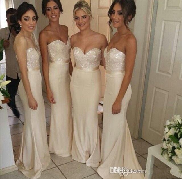 f163f8b535 2015 nuevo estilo vestidos largos para boda de dama de honor vestido de  novia con cuentas Top elegante en Vestidos de dama de honor de Bodas y  eventos en ...